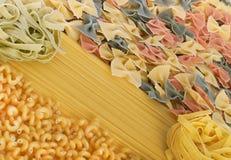 макаронные изделия итальянки собрания Стоковое фото RF
