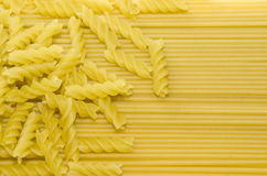 Макаронные изделия и спагетти Стоковая Фотография RF
