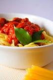 макаронные изделия обеда Стоковая Фотография RF
