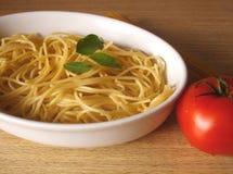 макаронные изделия обеда Стоковое фото RF