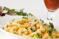 макаронные изделия обеда стоковое фото