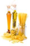 макаронные изделия оливки масла Стоковое Фото