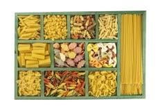 макаронные изделия собрания коробки Стоковое Изображение RF