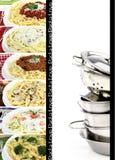 макаронные изделия собрания Стоковые Фотографии RF