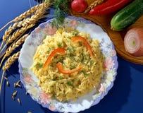 макаронные изделия тарелки Стоковое Изображение RF