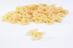макаронные изделия farfalle Стоковая Фотография RF
