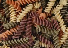 макаронные изделия fusilli стоковые изображения