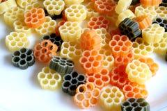 макаронные изделия tricolor Стоковая Фотография RF