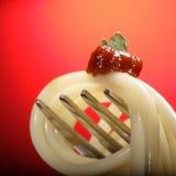 макаронные изделия вилки Стоковая Фотография RF