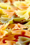 макаронные изделия сырцовые Стоковые Изображения