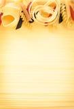 макаронные изделия uncooked Стоковая Фотография RF
