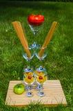 Макаронные изделия и томат на дисплее 2 Стоковое Фото
