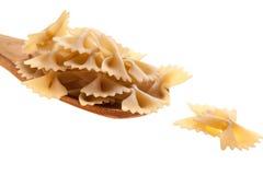 макаронные изделия крупного плана сырцовые Стоковая Фотография