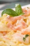 Макаронные изделия морепродуктов Стоковая Фотография RF