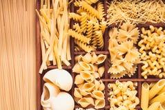 макаронные изделия различные Стоковое фото RF