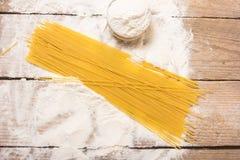 Макаронные изделия спагетти стоковая фотография rf