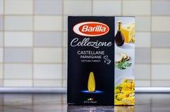 Макаронные изделия Collezione Barilla стоковая фотография
