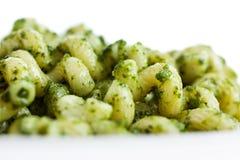 Макаронные изделия Pesto стоковые фотографии rf