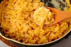 Макарон и сыр стоковые изображения