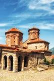 Македония, озеро Ohrid, правоверный монастырь St Naum 10th Centu Стоковые Фотографии RF
