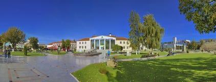Македония Prilep - центр города стоковая фотография