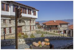 Македонская деревня 13 Стоковая Фотография