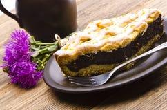 маковое семеня торта Стоковая Фотография
