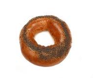 маковые семенена bagel свежие Стоковая Фотография RF