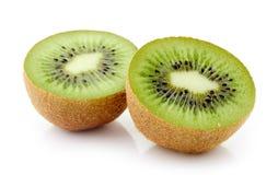 макросы кивиа плодоовощ предпосылки разделяют улучшать белизну серии изображения Стоковое Фото
