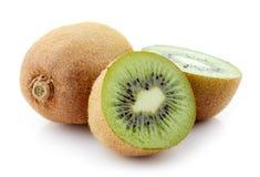 макросы кивиа плодоовощ предпосылки разделяют улучшать белизну серии изображения Стоковые Изображения RF
