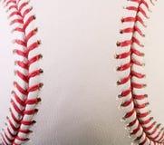 макрос бейсбола новый Стоковое Изображение