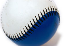 макрос бейсбола стоковая фотография