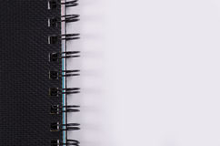 Макрос весны тетради стоковое фото rf