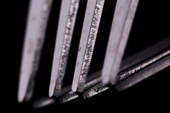 Макрос вилки Стоковое фото RF