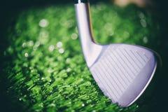 Макрос головы гольф-клуба Стоковое Изображение