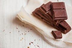 макрос десерта шоколада соединяет помадку Стоковые Изображения