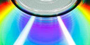 Макрос компакт-диска Стоковое Изображение RF