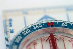макрос компаса Стоковая Фотография RF