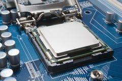 макрос компьютера Стоковые Изображения RF