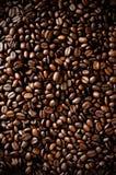 макрос кофе завтрака фасолей идеально изолированный над белизной Стоковые Изображения RF