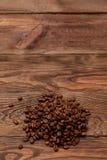 макрос кофе завтрака фасолей идеально изолированный над белизной Стоковые Фото