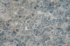 Макрос кристалла соли Стоковое Фото