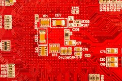 макрос оборудования Стоковая Фотография RF