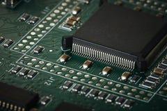 Макрос доски интегральной схемаы Стоковые Изображения RF
