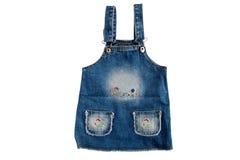 макрос одежды младенца Стоковая Фотография