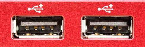 макрос переносит usb 2 Стоковое фото RF