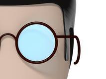 макрос персонажа из мультфильма 3D Стоковое Изображение