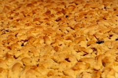 Макрос пирога Стоковая Фотография