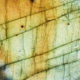 Макрос драгоценной камня лабрадорита кристаллический стоковая фотография