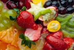 макрос свежих фруктов ягод предпосылки стоковые фотографии rf